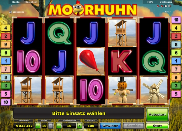 moorhuhn casino