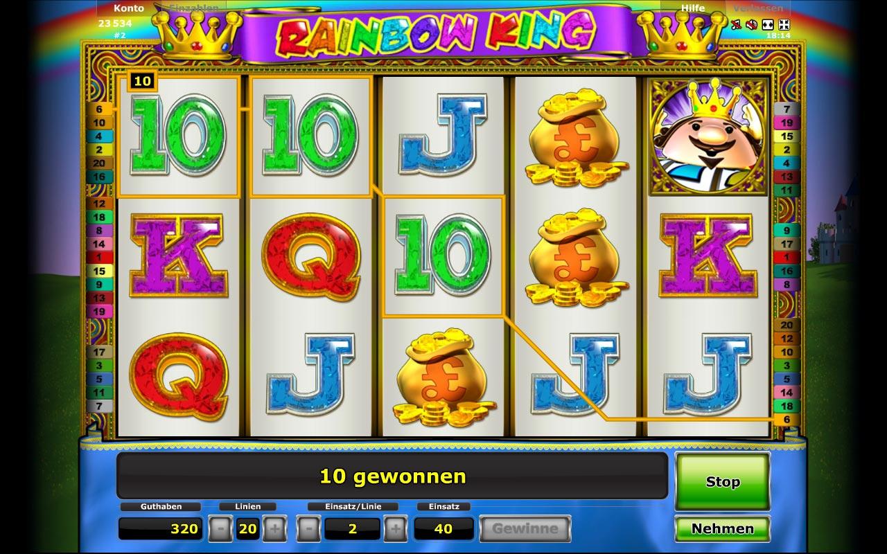 casino online spielen kostenlos rainbow king