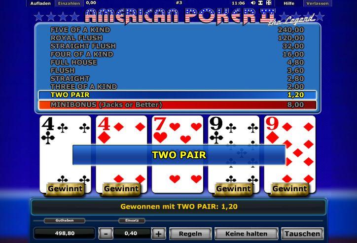 american poker automat kostenlos spielen