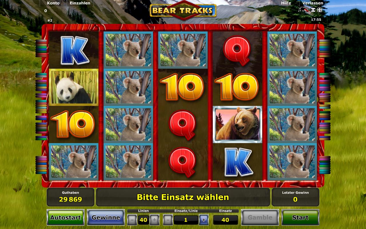Bear Tracks kostenlos spielen | Online-Slot.de