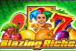 blazing riches logo