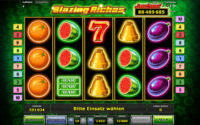 blazing riches novoline spielautomat