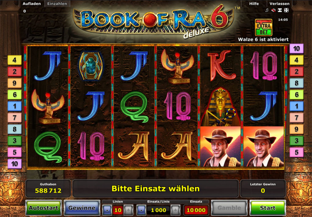 book of ra automat