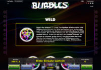 bubbles wild feature