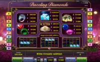 dazzling diamonds gewinne