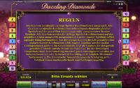 dazzling diamonds regeln