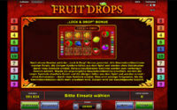 fruit drops feature