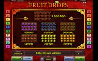 fruit drops gewinne