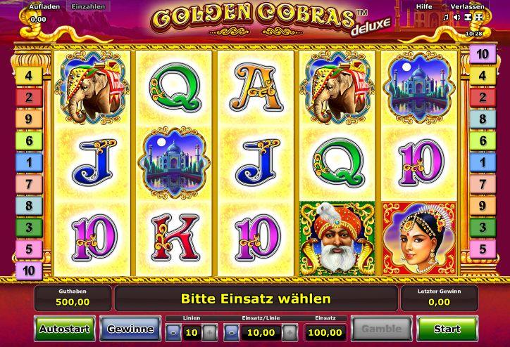 Golden Cobras Deluxe – indisches Flair, große Gewinne