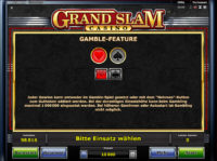 Grand Slam Casino Feature