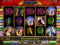 Gryphons Gold Deluce Novoline Spiel