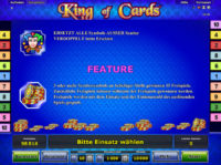 King of Cards Feature