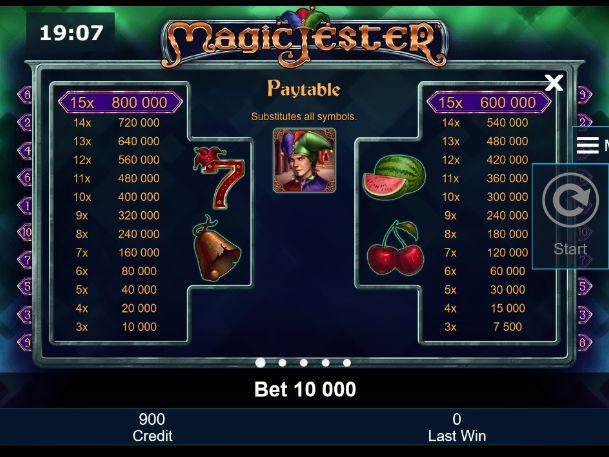 magic jester spielen