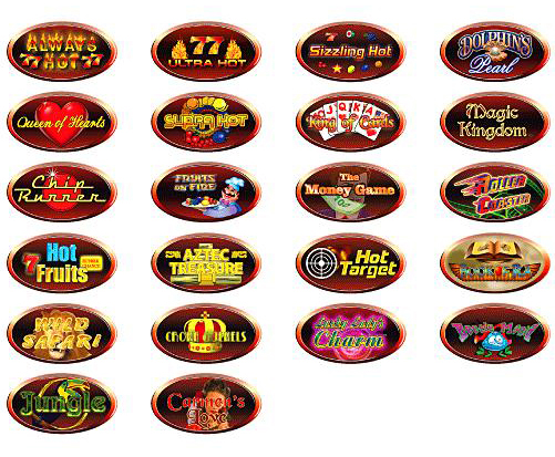 online slots spielen video slots