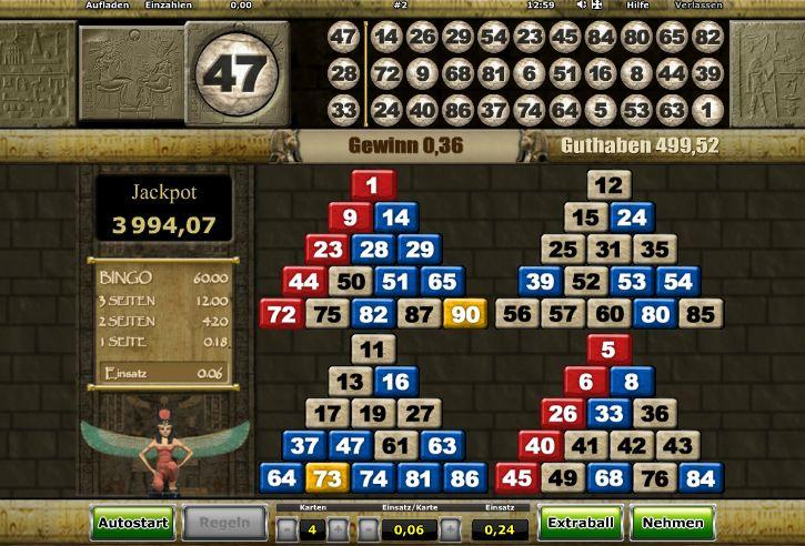 Novoline Bingo Tricks