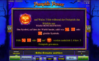 pumpkin power bonus