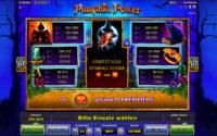 pumpkin power gewinne