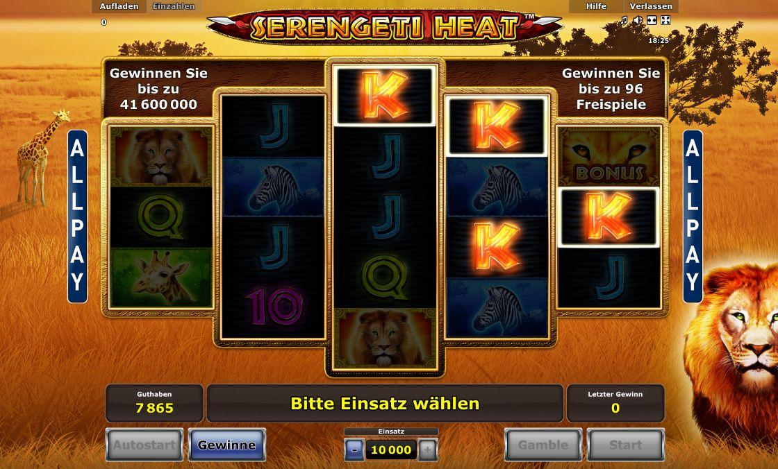 Spiele Serengeti Heat - Video Slots Online