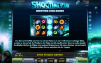 shooting stars feature