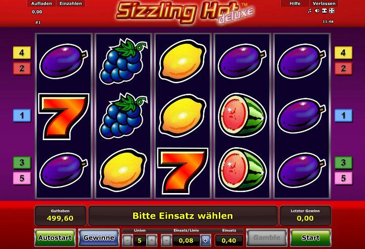 Sizzling Hot Um Echtgeld Spielen