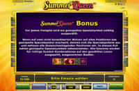 summer queen bonus