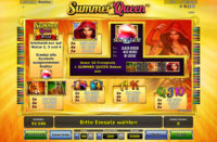 summer queen gewinne