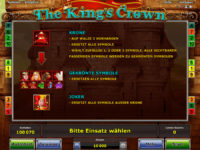 the kings crown bonus