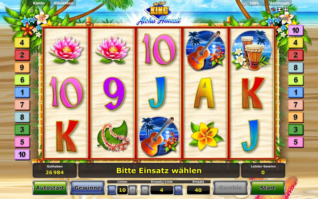 The Real King Aloha Hawaii Slot - Jetzt gratis spielen