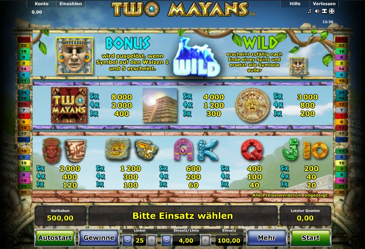 share online keine free slots maya symbole