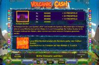 volcanic cash bonus