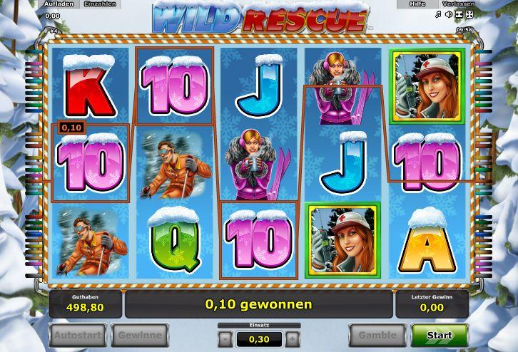 Wild Rescue Spielautomat - Jetzt Novomatic-Slots gratis Online spielen