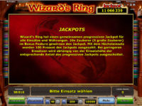 Wizards Ring Jackpot